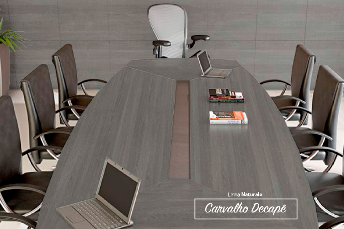 Home Office Planejado Linear Interiores